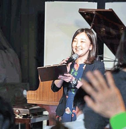 加藤望のかさこ塾新年会での司会